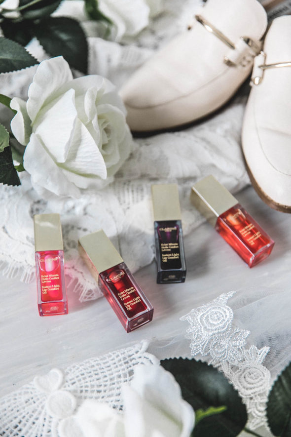 The Perfect Pout with Clarins Lip Stain and Oil | Atsuna Matsui