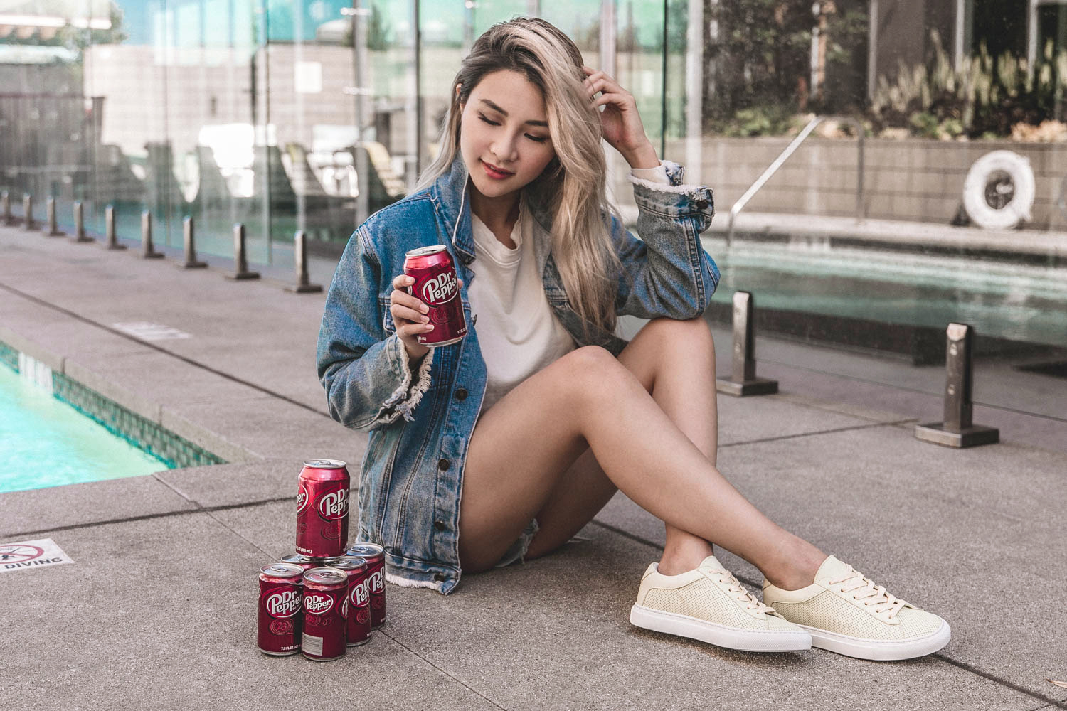 Staying Refreshed with Dr Pepper   Atsuna Matsui