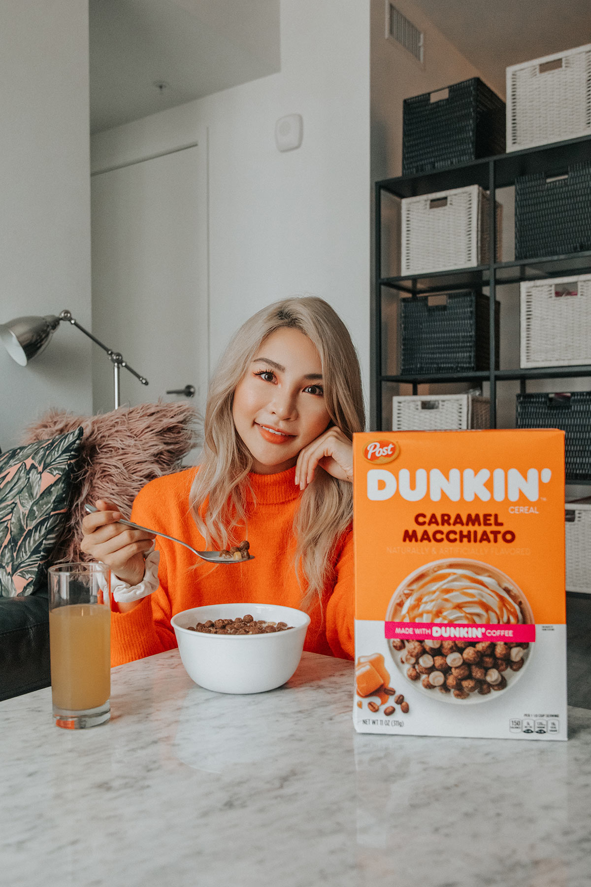 My Mornings with Post Dunkin' Cereal | Atsuna Matsui